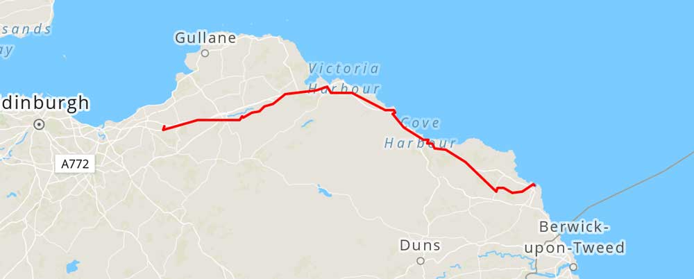 Map from Strava