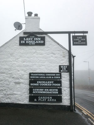 The Last Inn pub, near Lands End