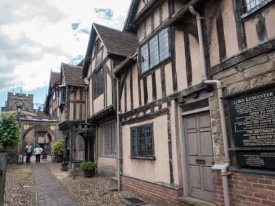 The Lord Leycester House, Warwick