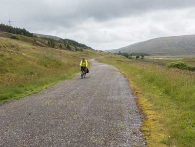 Dedicated cycle paths over the Cairngorms